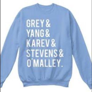 Grey's Anatomy Characters Unisex Sweatshirt